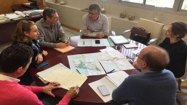 Reunión en la Junta sobre el Potauh.