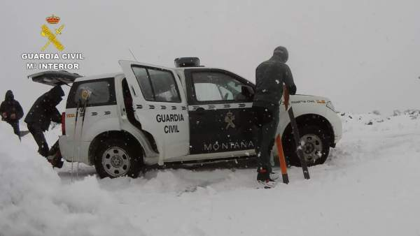 Guardia Civil en el Teide