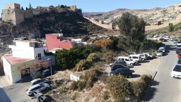 Entorno de La Alcazaba de Almería y de La Hoya