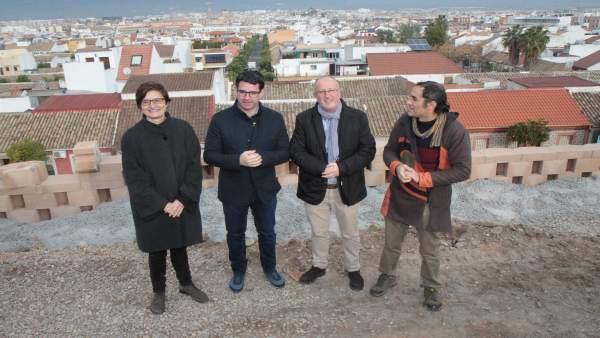 Pedro García, Amparo Pernichi, Juan Hidalgo y Antonio de la Rosa