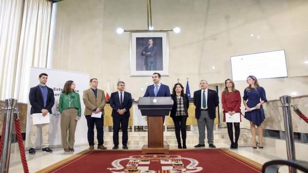 Notas Ayto. Almería (2) Alcalde Plan Estratégico Presentación Coordinadores Vect
