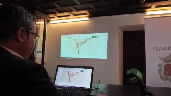 Presentación de la aplicación del autobús urbano de Ronda