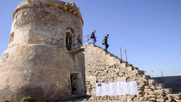 Torreón de San Miguel en Cabo de Gata