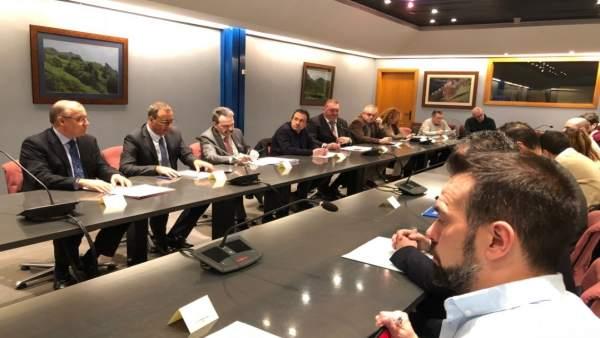 Reunión de la 'Alianza sobre infraestructurias'
