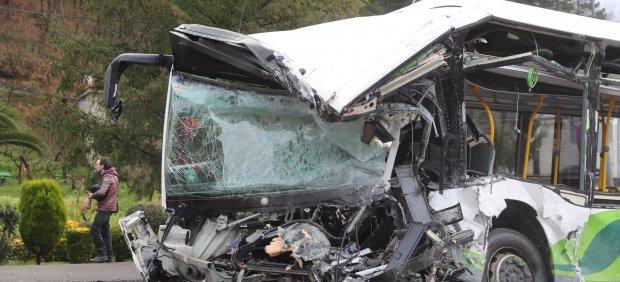 Trágico accidente en Vizcaya