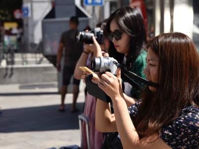 Turismo, turista, turistas asiáticos.