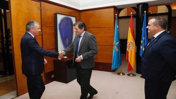 Belarmino Feito y JAvier Fernández