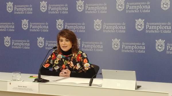 Maider Beloki, concejala de Cultura y Educación del Ayuntamiento de Pamplona