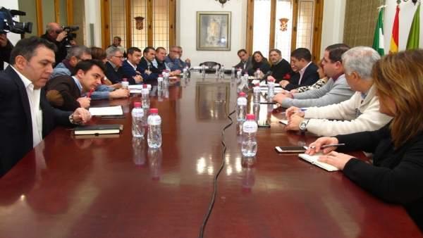 Junta asesora del Consejo de Alcaldes y Alcaldesas de la provincia de Jaén.