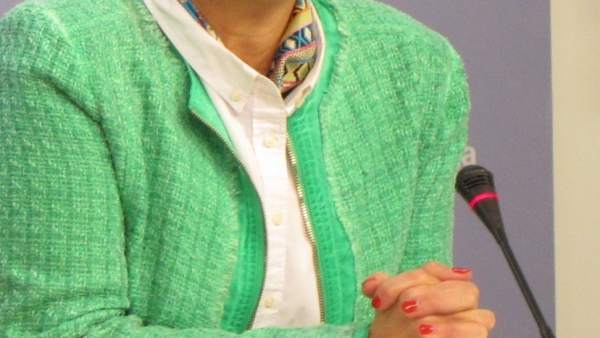 La consejera de Desarrollo Económico e Innovación, Leonor González, sobre Cámara