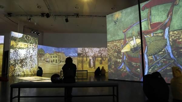 Van Gogh Alive exposición Sevilla