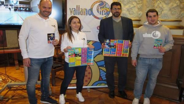 Presentación de los programas Vallanoche y Vallatarde