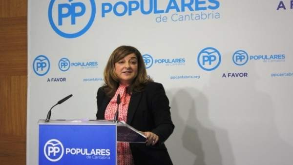 Sáenz de Buruaga, presidenta del PP