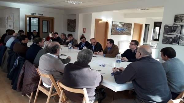 Confederación Hidrográfica Del Ebro Reunión Junta De Orbras De Yesa