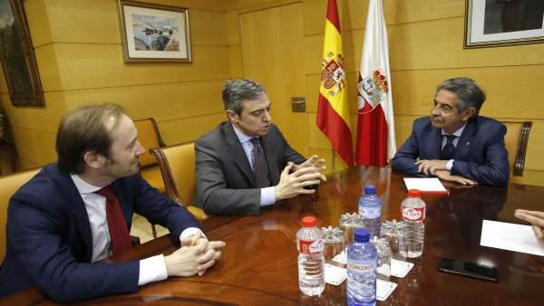 11:00.- Gobierno De Cantabria. El Presidente De Cantabria, Miguel Ángel Revilla