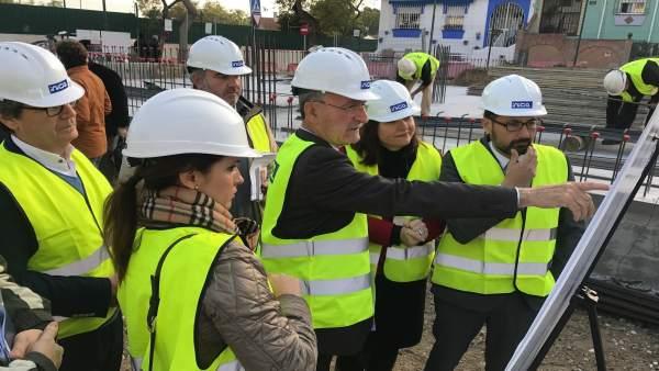 El Ayuntamiento De Málaga Informa: Comienzan Las Obras Del Nuevo Centro De Mayor