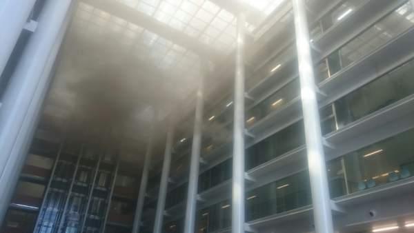 """Viguer creu que la detecció de l'incendi en la Ciutat de la Justícia va ser """"tardana"""" i va tindre efectes """"devastadors"""""""