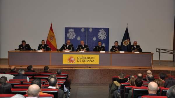 Jornada de la Policía con la seguridad privada.