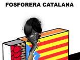 Fosforera catalana. Viñeta de Malagón