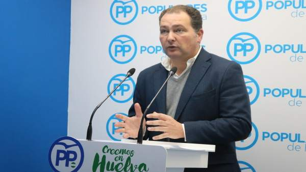David Toscano, secretario general del PP de Huelva.