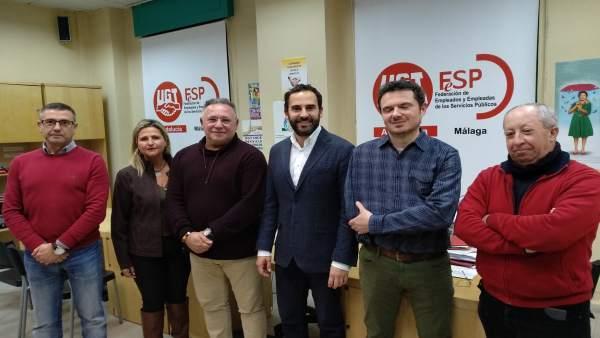 Reunión PSOE en el Ayuntamiento y UGT