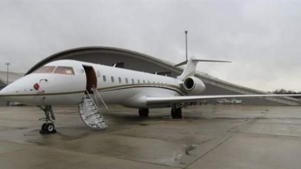 Jet privado donde estaba la droga