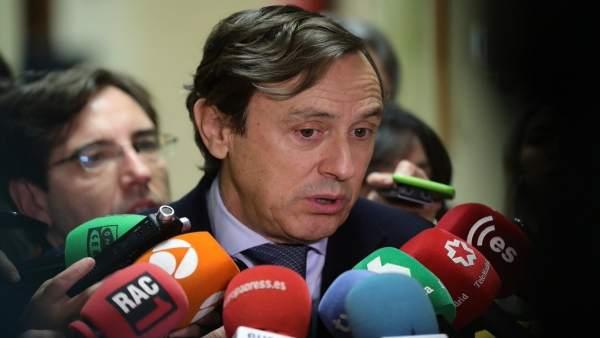 El portavoz del Grupo Popular, Rafael Hernando