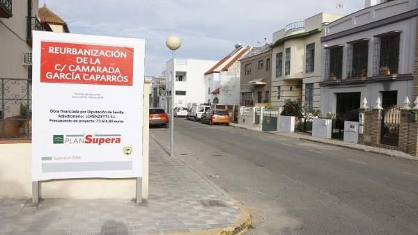 Calle García Caparros.