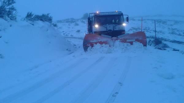 Nieve en Lugo, nevada, temporal, hielo