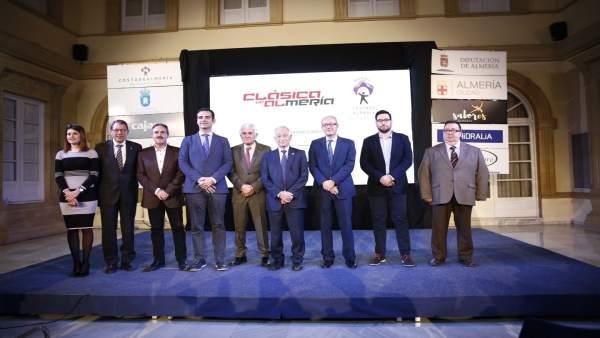 Presentación de la 'Clásica de Almería'