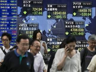 Mercado financiero japonés