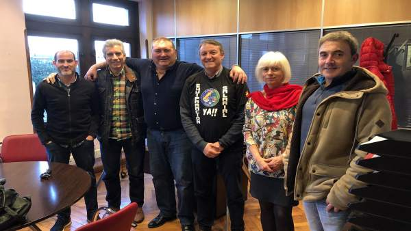 IU con representantes de Jusapol.