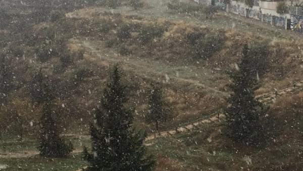 Benilloba (Alacant) suspèn aquest divendres les classes pel temporal de neu que assota el nord de la província