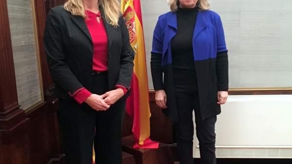 Maria Frontera y María Salom