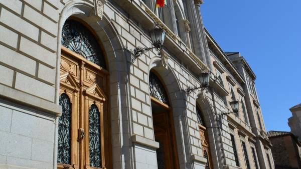 Fachada Diputación Toledo