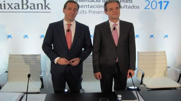"""Gual (CaixaBank) insisteix que el canvi a València va ser una decisió """"difícil"""" però """"encertada"""" per seguretat jurídica"""