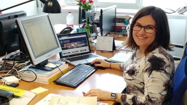 La investigadora Lorena Cano