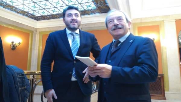 Wenceslao López y Jonás Fernández.