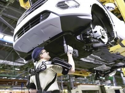 El exoesqueleto de Ford