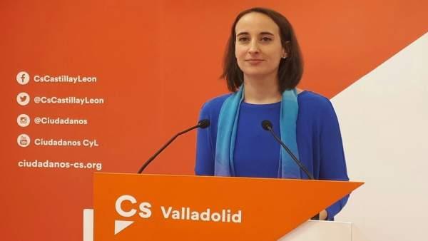 La portavoz de Ciudadanos en Valladolid, Pilar Vicente