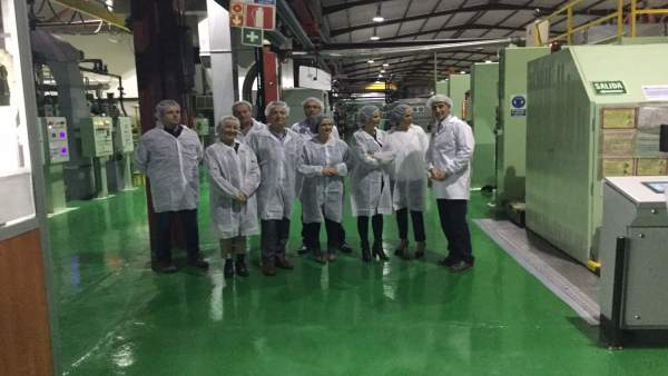 Visita a la empresa Taghleef Industries.