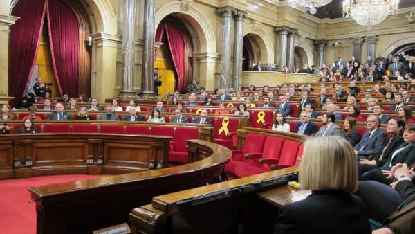Pleno de constitución del Parlament de la XII Legislatura