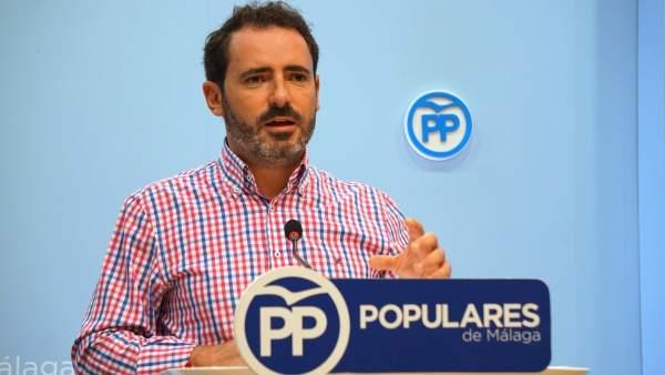 El portavoz provincial del PP, José Ramón Carmona