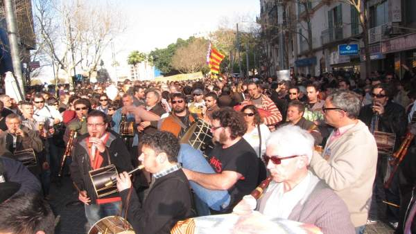 Manifestación Catalán