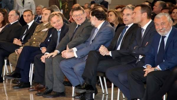 """Puig reivindica davant Rajoy que la Comunitat és """"una terra que ha donat molt i per mèrits propis reclama atenció"""""""