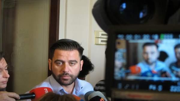 Fran González, portavoz del PSOE en Cádiz