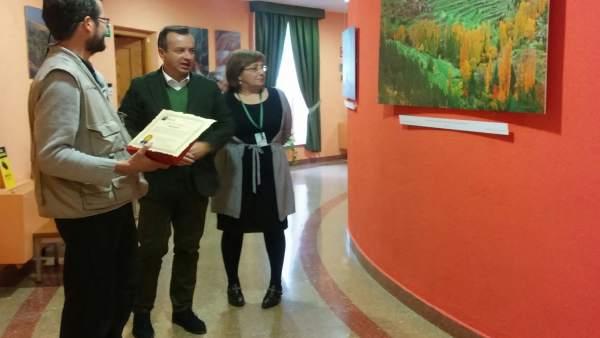 Exposición en el hospital Virgen de las Nieves