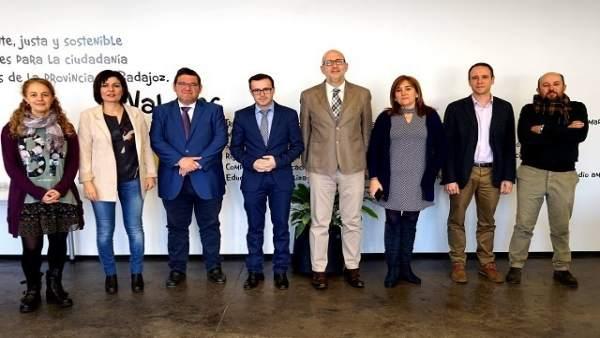 Visita al consorcio de aguas y residuos de Badajoz