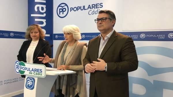La diputada popular, Teófila Martínez
