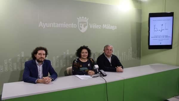 Np: Vélez Málaga Rinde Homenaje A Federico García Lorca Por El 120 Aniversario D